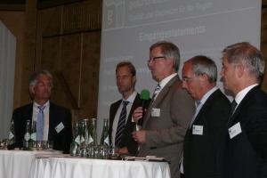 """Medlounge 2009: """"An Telemedizin führt kein Weg vorbei"""" (Foto MR)"""